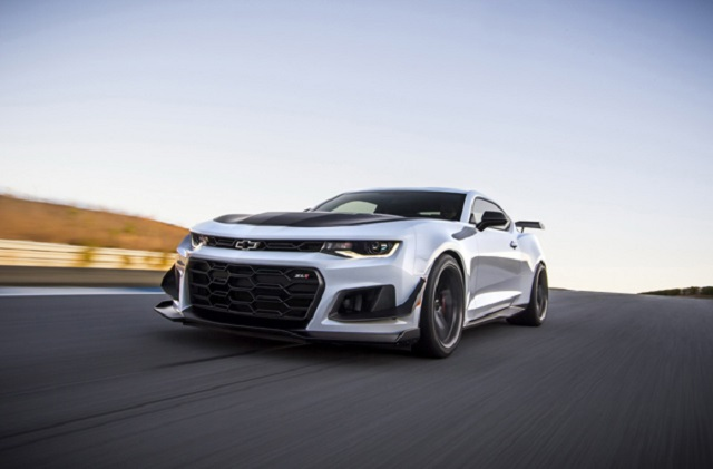 2019 Chevrolet Camaro Z28 front view