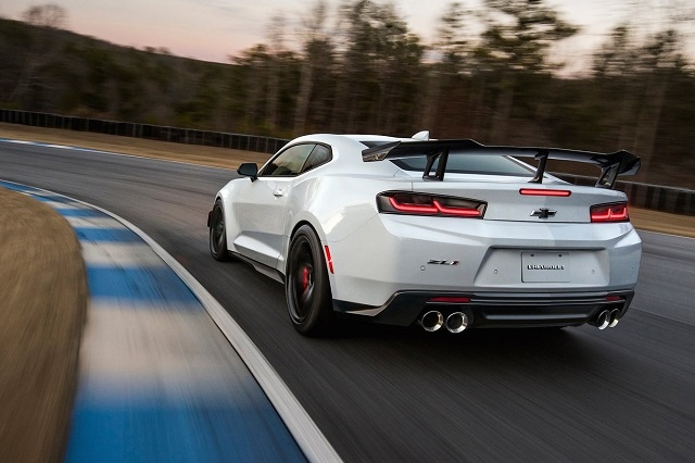 2019 Chevrolet Camaro Z28 rear view