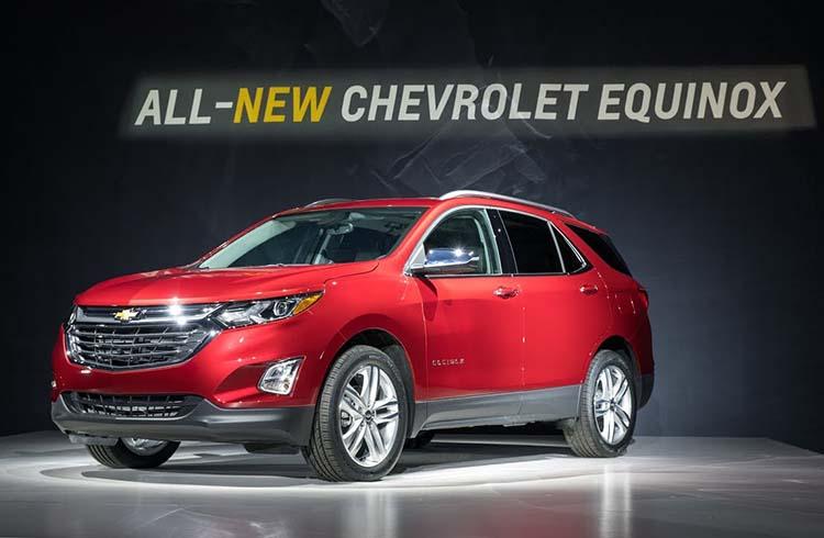 2019 Chevrolet Equinox debut