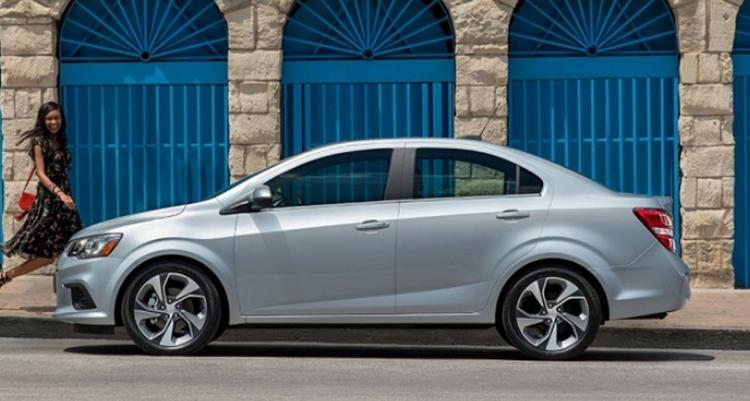 2019 Chevrolet Sonic sedan