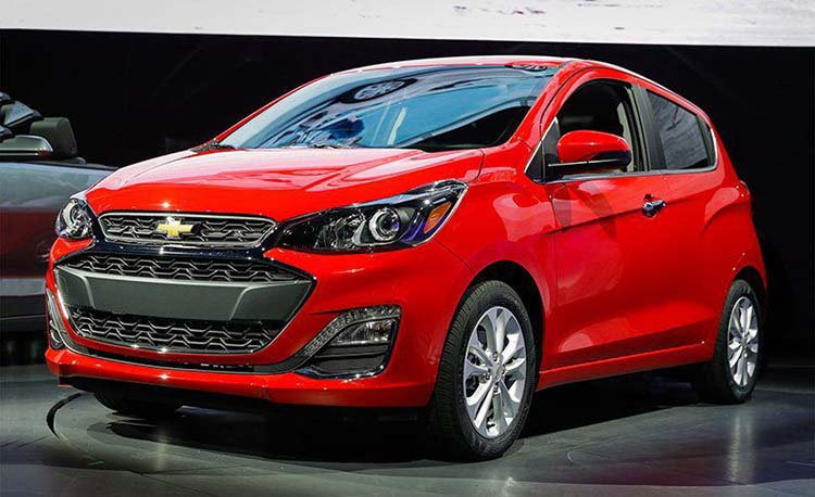 2019 Chevrolet Spark front