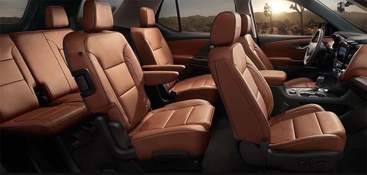 2019 Chevrolet Suburban cabin