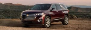 2019 Chevrolet Traverse front