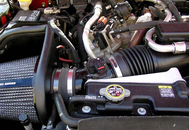 2019 Ford F-550 engine
