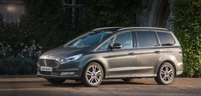 2019 Ford Galaxy side view