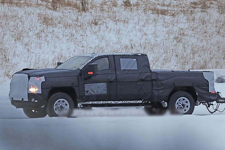 2020 Chevrolet Silverado 2500 spied