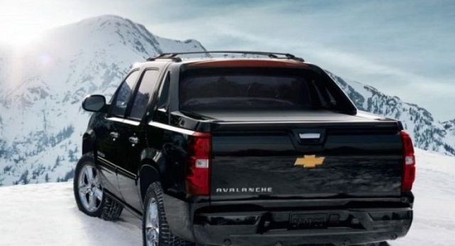2019 Chevrolet Avalanche Rear View