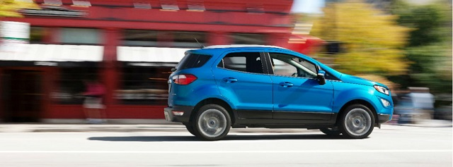 2019 Ford Ecosport side view
