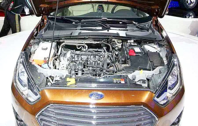 2019 Ford Escort engine