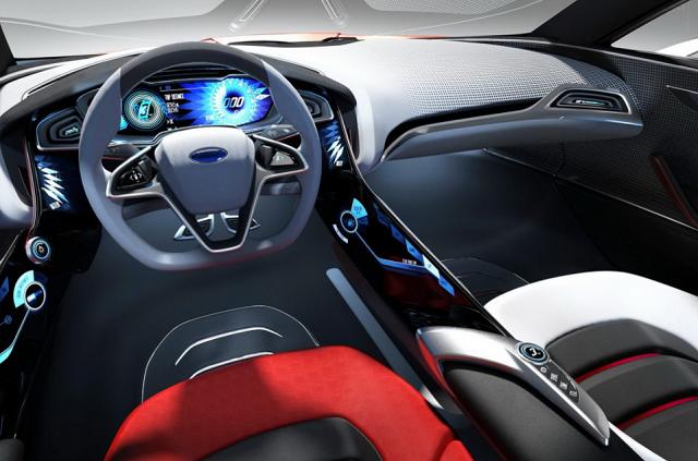 2019 Ford Evos interior