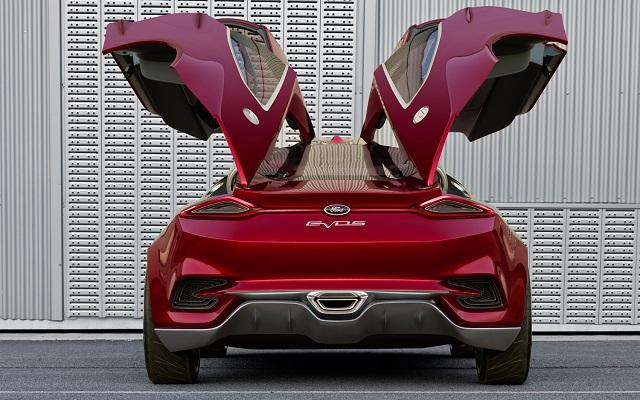 2019 Ford Evos rear view
