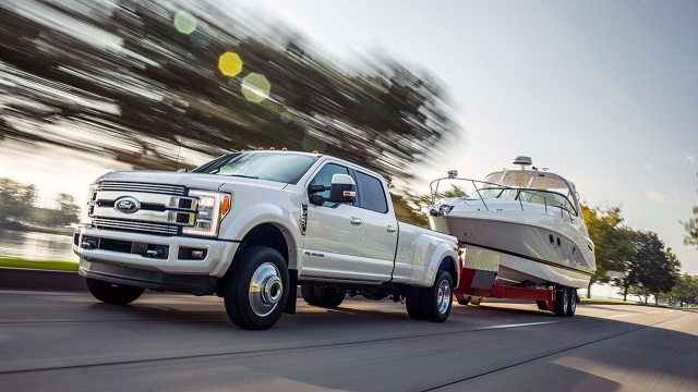 2019 Ford F-350 Super Duty Truck side view
