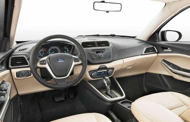 2019 Ford Figo interior