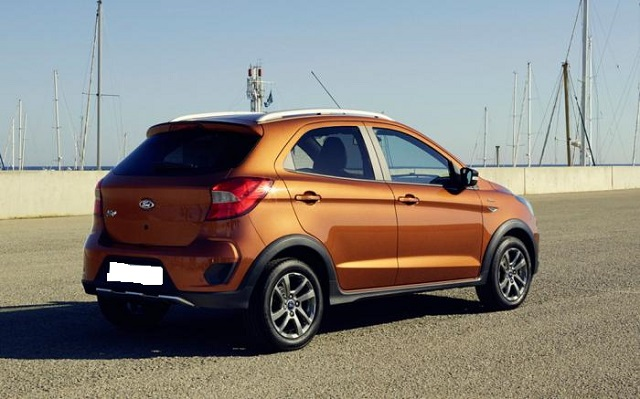 2019 Ford Figo rear view