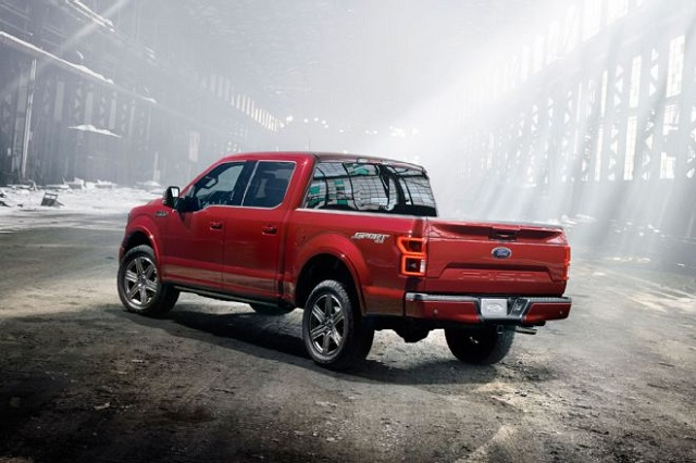 2019 Ford Lobo rear view