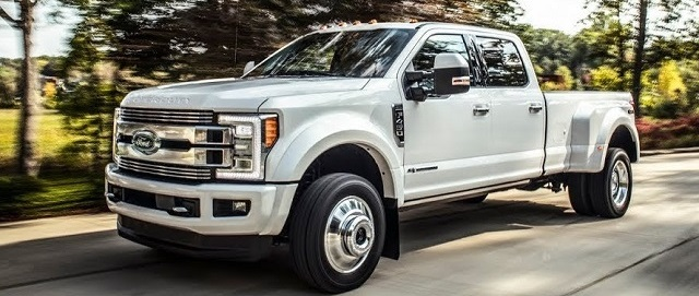 2019 Ford Super Duty side view