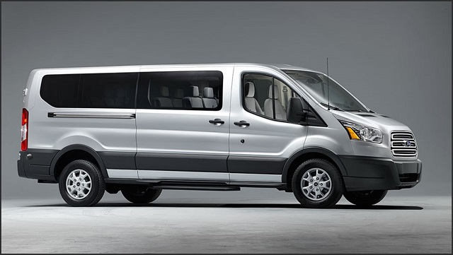 2019 Ford Transit side view
