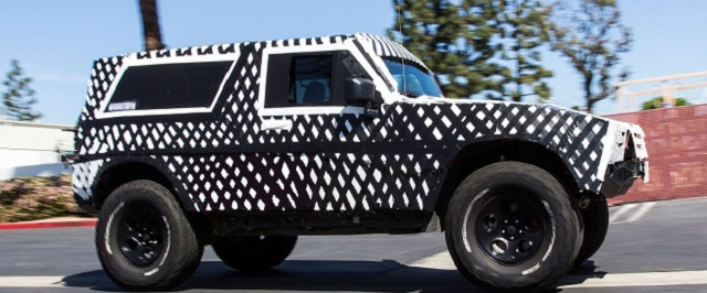 2020 Ford Bronco spy pics