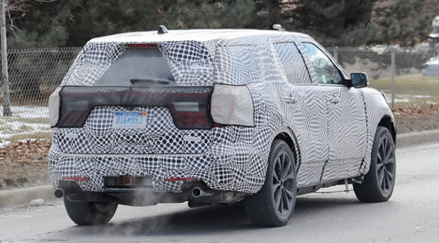 2020 ford explorer interior rear view