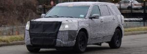 2020 ford explorer spy shots