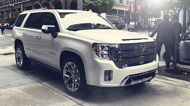 2021 GMC Yukon Redesign