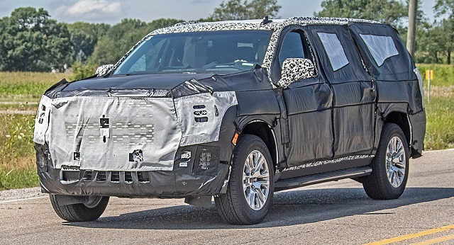 2021 GMC Yukon Spy Photo