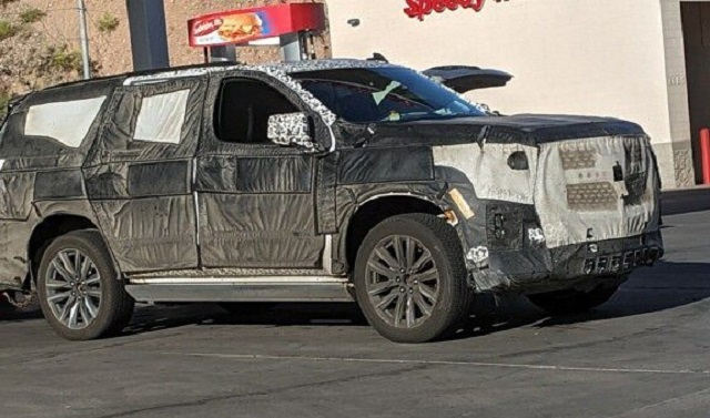 2021 Cadillac Escalade Spy Shot