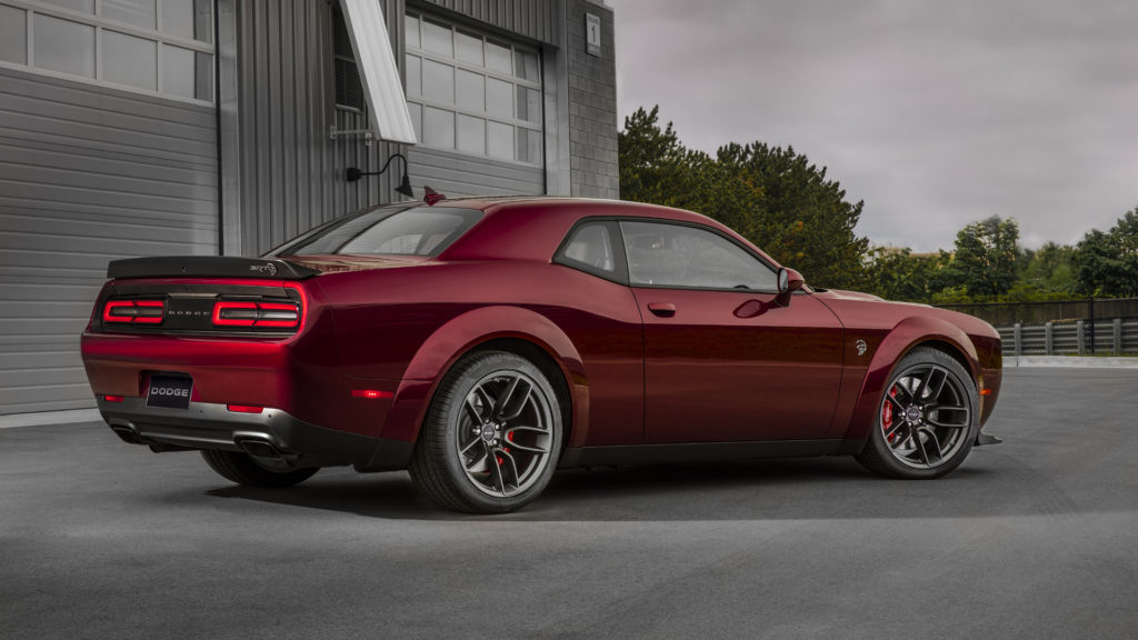 2021 Dodge Challenger SRT Rear