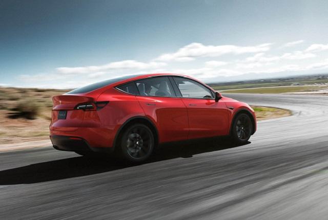2021 Tesla Model Y rear