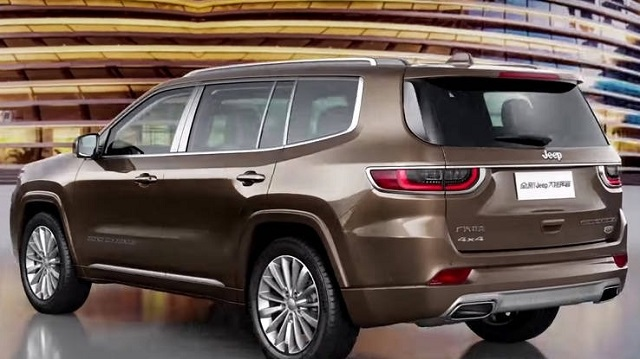 2021 Jeep Wagoneer rear