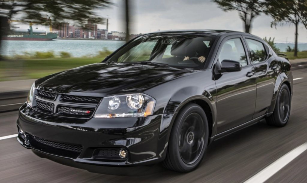 2020 Dodge Avenger Redesign