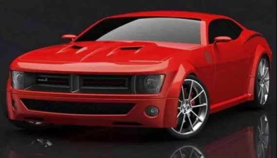 2021 Dodge Barracuda Rendering