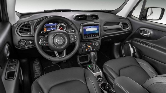 2021 Jeep Renegade Interior