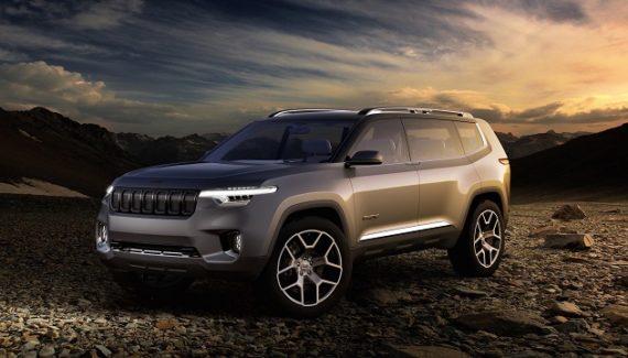 2021 Jeep Grand Wagoneer rendering