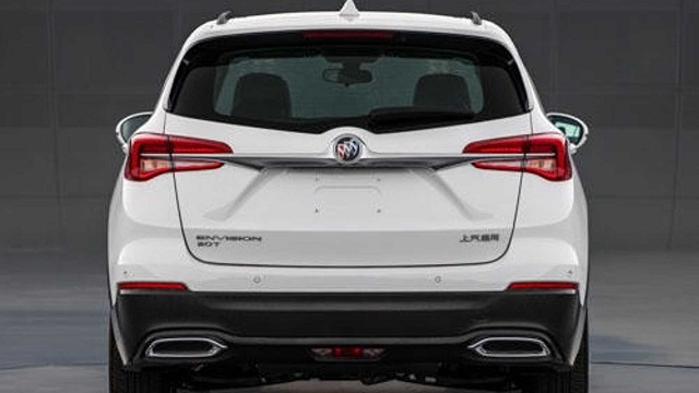 2021 Buick Envision rear
