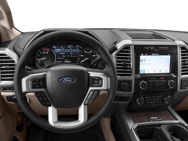 2021 Ford F-450 interior