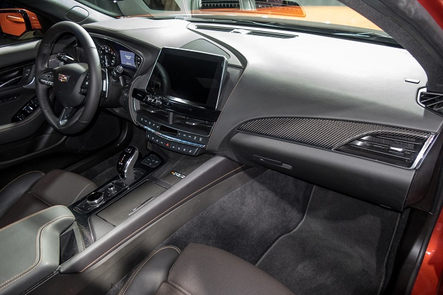 2021 Cadillac CT5-V Interior
