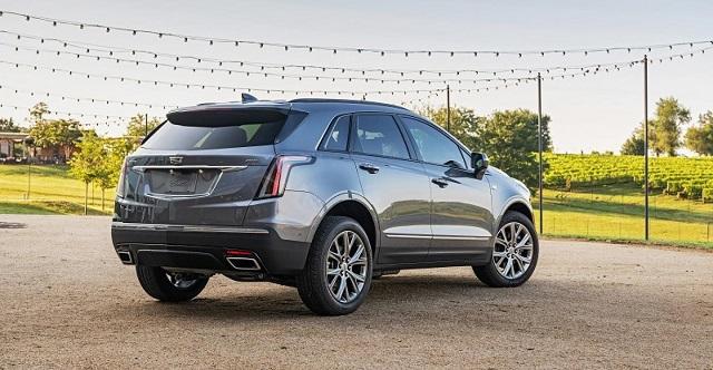 2021 Cadillac XT5 rear