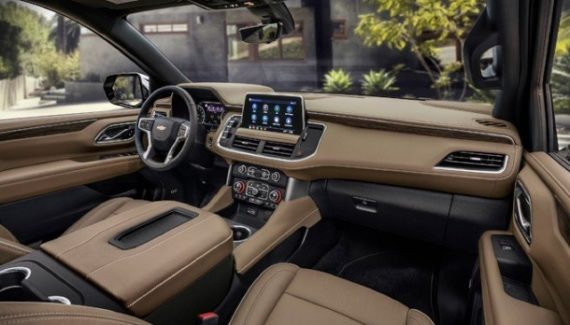 2021 Chevy Silverado 1500 Interior Renering