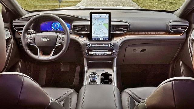 2021 Ford Explorer Interior