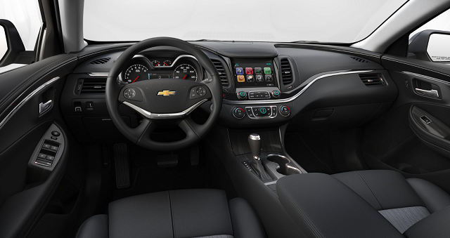 2021 Chevrolet Impala Interior
