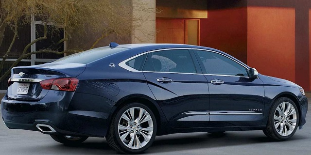 2021 Chevrolet Impala release date