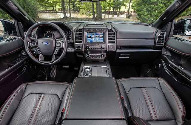 2021 Ford Expedition interior