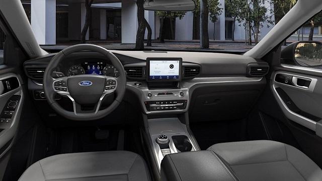2021 Ford Explorer XLT interior