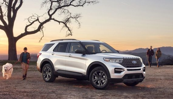 2021 Ford Explorer XLT package