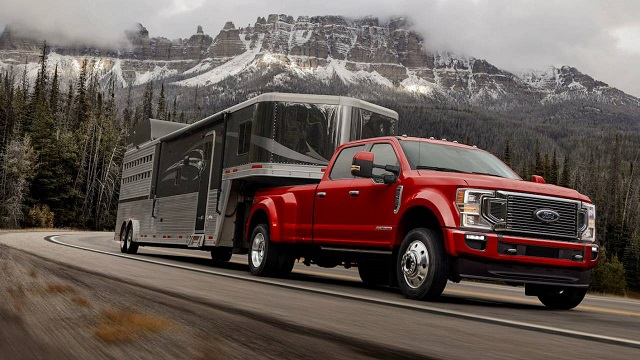 2021 Ford F-350 Towing Capacity