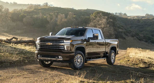 2020 Chevy Silverado 2500HD High Country Front