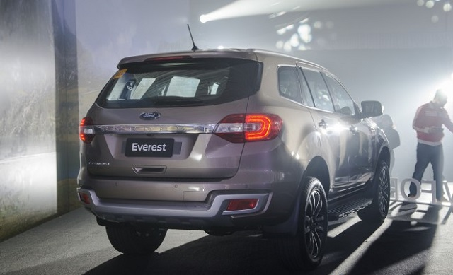 Ford Everest Price