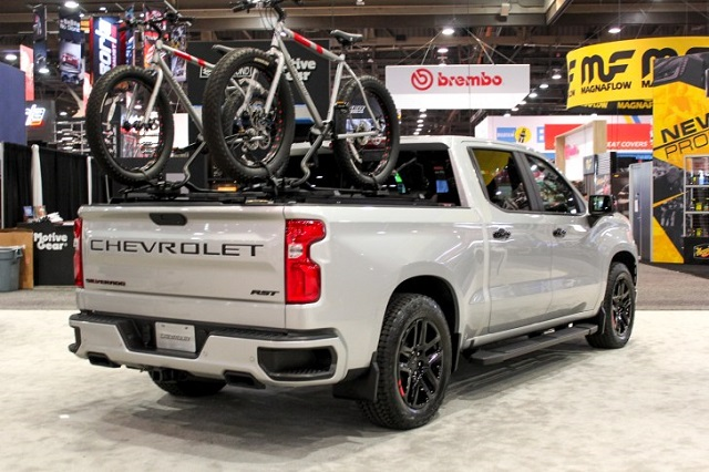 2021 Chevrolet Silverado SS rear