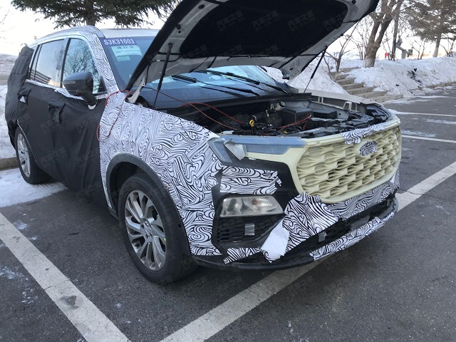 2021 Ford Endeavour Spy shot